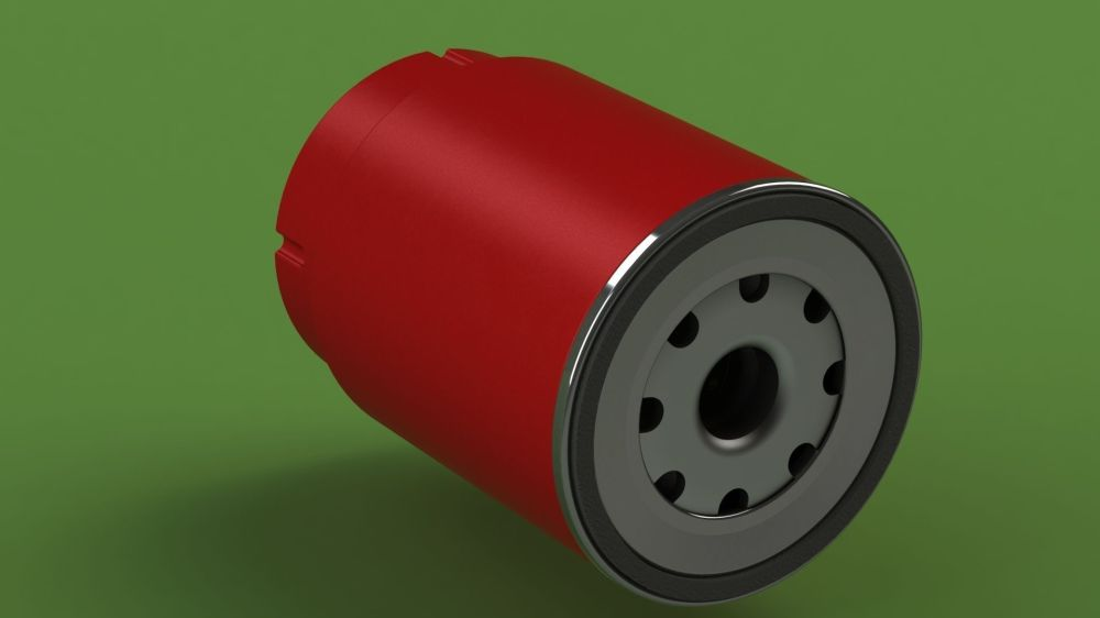 medium resolution of  mann pl270 disel fuel filter 3d model sldprt sldasm slddrw 2