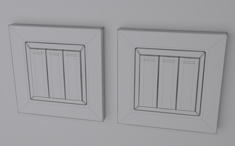 Retrotouch RTS2005 Mechanical Light Switch... 3D Model