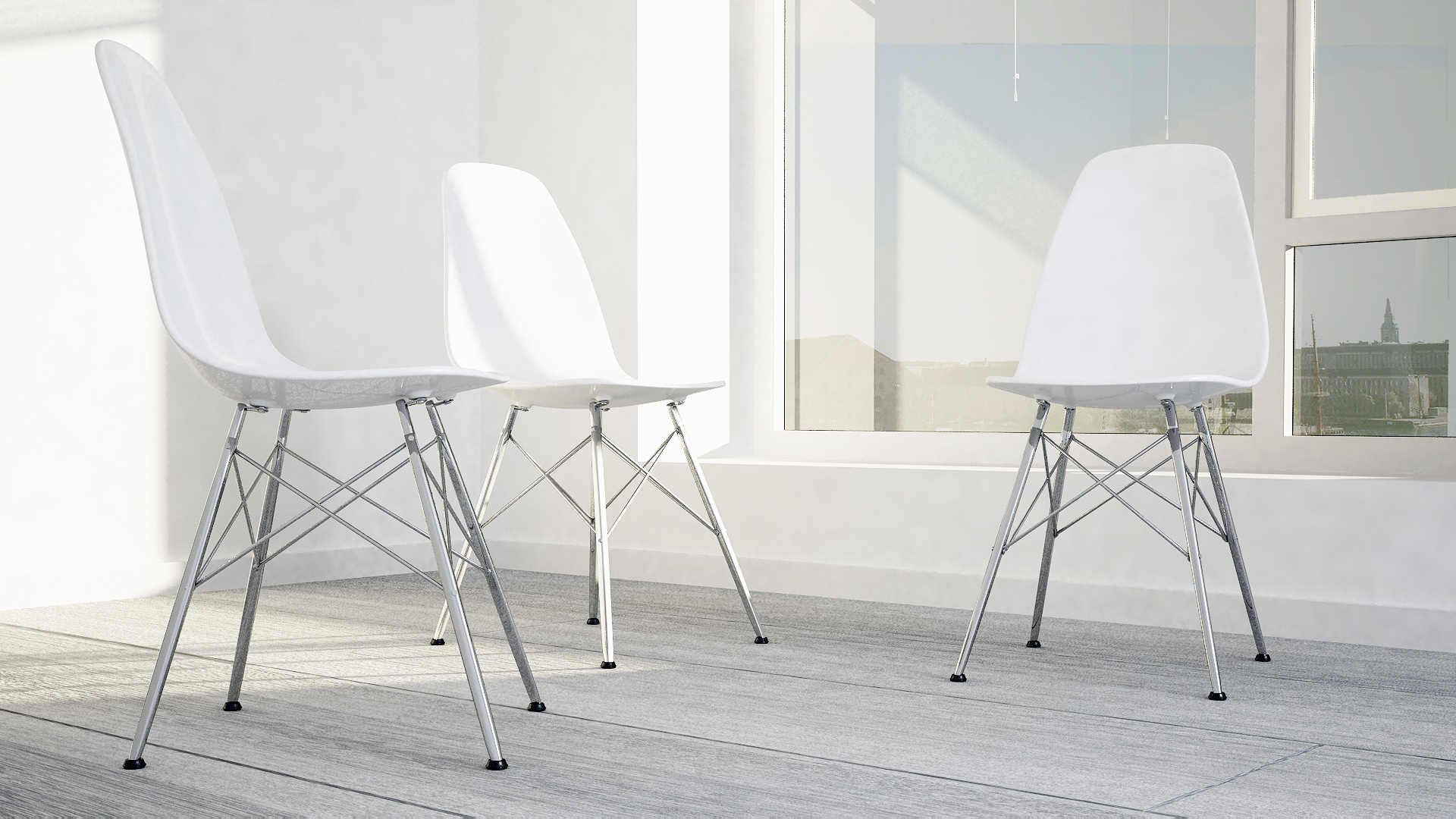 chair design parameters bin bag chairs eames white 3d model max obj 3ds fbx dxf dwg