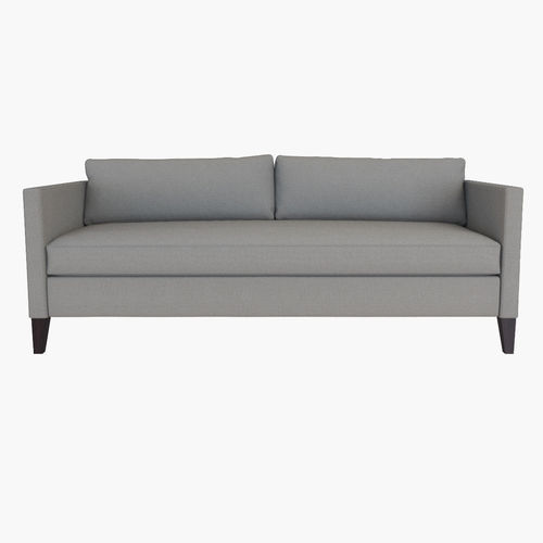 dunham sofa wooden online bangalore west elm down filled box cushion 3d model max obj mtl fbx