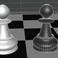 5 Piece Kitchen Table Set Moen Arbor Faucet Chess Pawn 3d Model .obj .fbx .ma .mb - Cgtrader.com