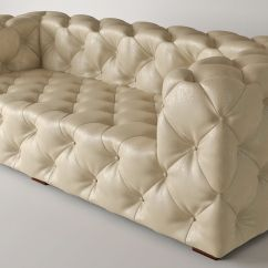 Vine Brown Leather Tufted Sofa Stanton Sofas Reviews Soho 3d Model Max Fbx Cgtrader