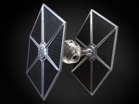 Star Wars Tie Fighter with Interior 3D Model .max .obj