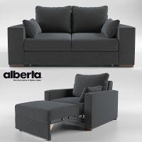 Togo sofa-bed transformer 3D Model rigged .max .obj .mtl ...