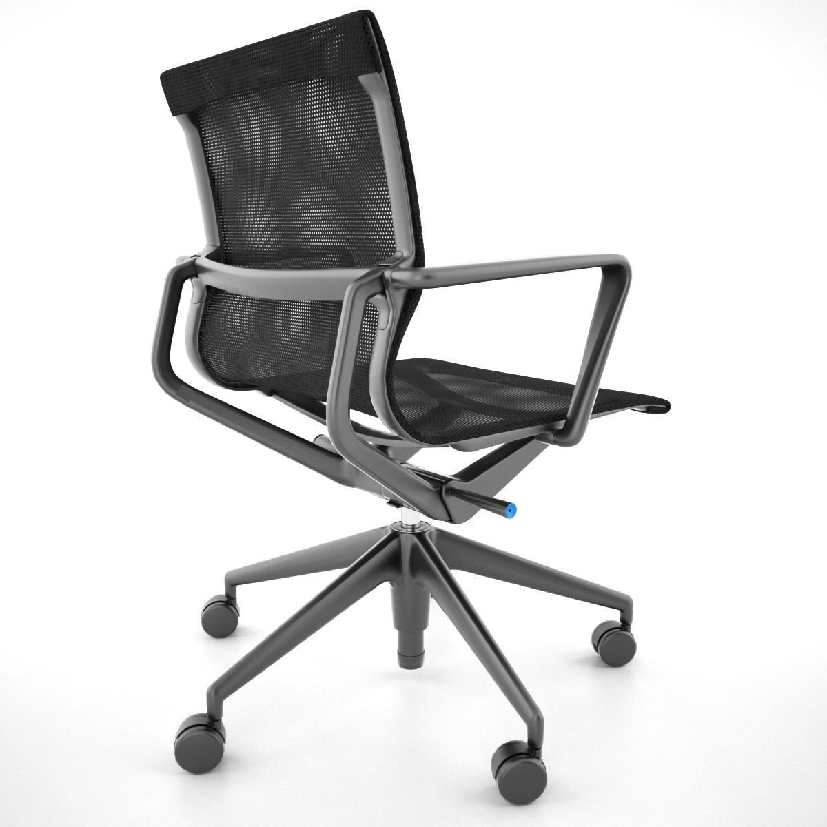 office max chair desk used vitra physix 3d model obj fbx cgtrader