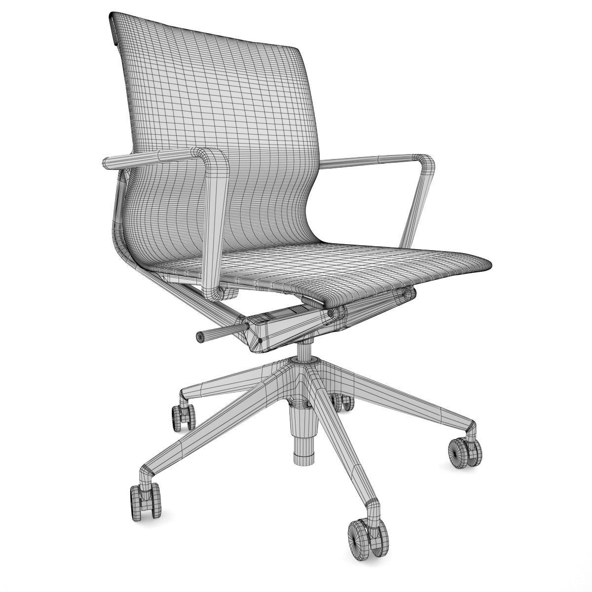 Vitra Office Chair Vitra Physix Office Chair 3d Model Max Obj Fbx