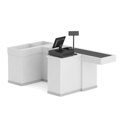 3D Cashier Desk  CGTrader