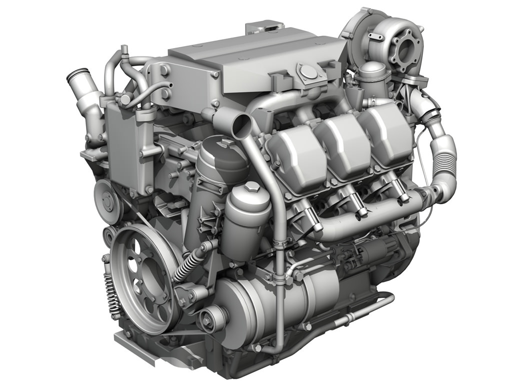 ford 7 5 truck engine diagram