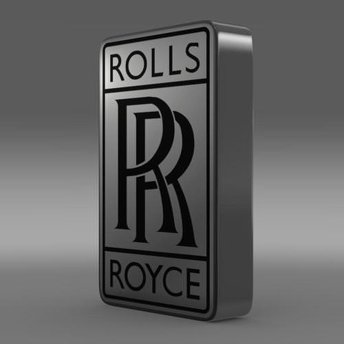 Roll Royce Car Hd Wallpaper Rolls Royce Logo 3d Model Max Obj 3ds Fbx C4d Lwo