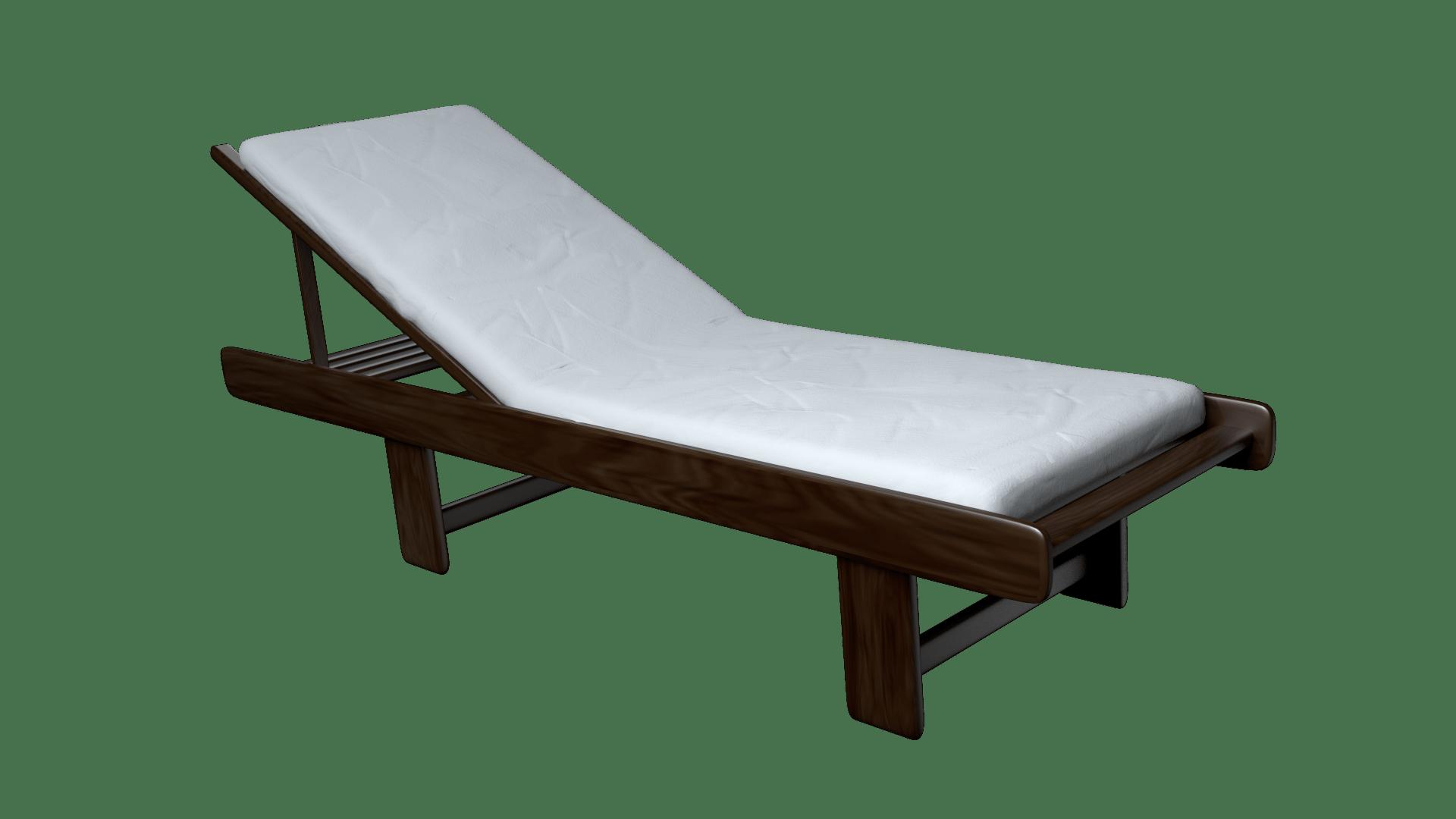 Beach chair 3D Model rigged blend  CGTradercom