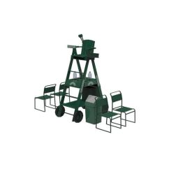 Tennis Umpire Chair Hire Banana Leaf Dining Chairs 3d Asset Cgtrader Model Fbx Ma Mb 1