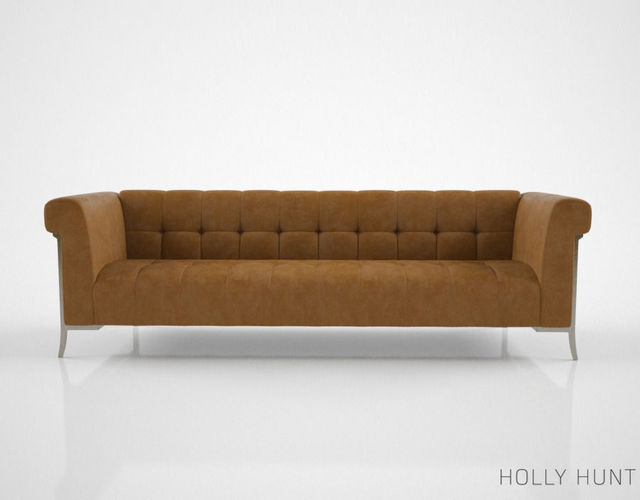 large sofa couch 5 piece sectional sofas 3d model holly hunt sheffield | cgtrader