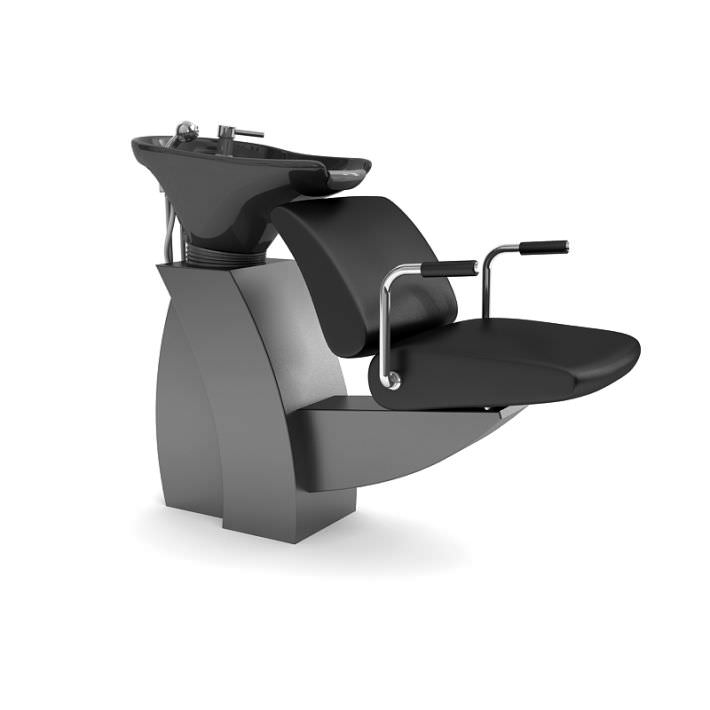 beauty salon chair cover hire newcastle upon tyne hair 3d model cgtrader