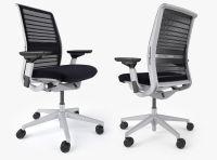 Steelcase Think Office Chair 3D Model MAX OBJ FBX MTL ...