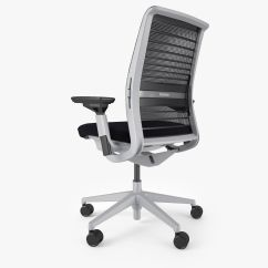 Steelcase Chair Parts Christmas Covers Singapore Think Office 3d Model Max Obj Fbx Mtl