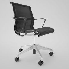 Office Chair 3d Model Grey Accent Chairs With Arms Herman Miller Setu Max Obj Fbx