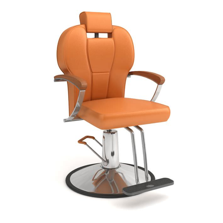 Beauty Salon High End Chair 3D Model OBJ  CGTradercom