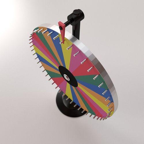 Spinning Wheel 2 3D Model OBJ 3DS FBX BLEND DAE MTL ...
