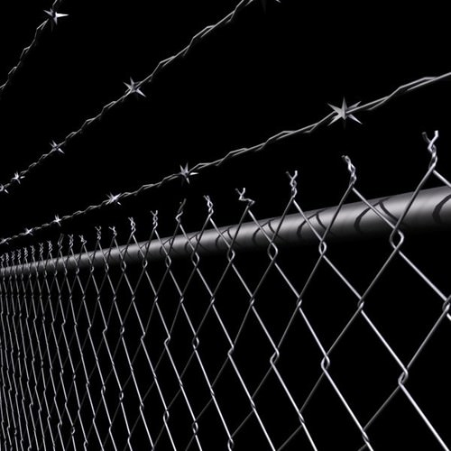 Razor 3d Wallpaper Chainlink Fence Barbed Wire High Detail 3d Model Max Obj