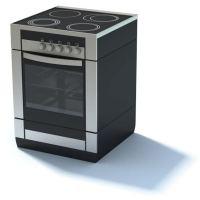 Modern Stove Oven 3D Model - CGTrader.com