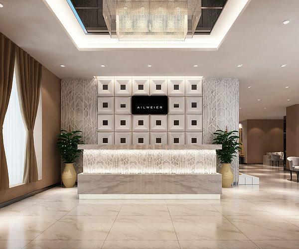 3D Models Clothing showroom interior  CGTrader