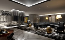 Collection Modern Hotel Room 3d Model Max