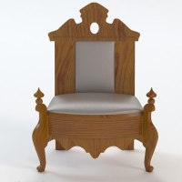 ornate throne chair 3D Models - CGTrader.com