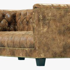 Savoy Leather Sofa Restoration Hardware Stone 3d Model Max Obj Mtl 3ds Fbx 5