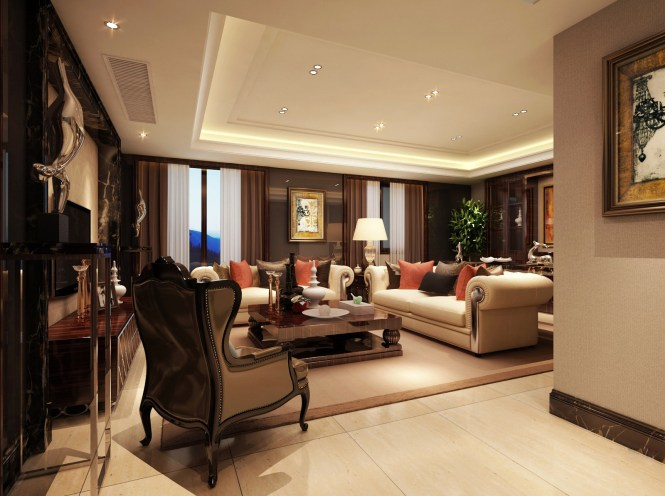 Pictures Of Well Furnished Living Room Home Decor