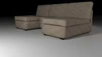Simple Couch for Blender Cycles 3D