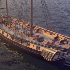 Parts Of A Pirate Ship Diagram 6 Pin To 7 Trailer Adapter Wiring Brig Rigging Spinnaker ~ Elsavadorla