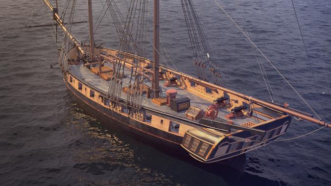 parts of a pirate ship diagram 2002 ford ranger brig rigging spinnaker ~ elsavadorla