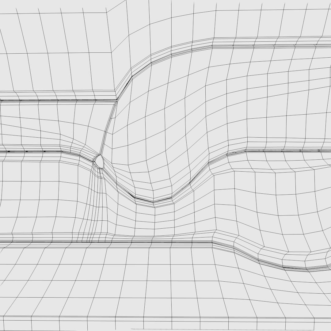 Sci Fi Corridor 3d Model Obj 3ds Fbx Dxf L Blend