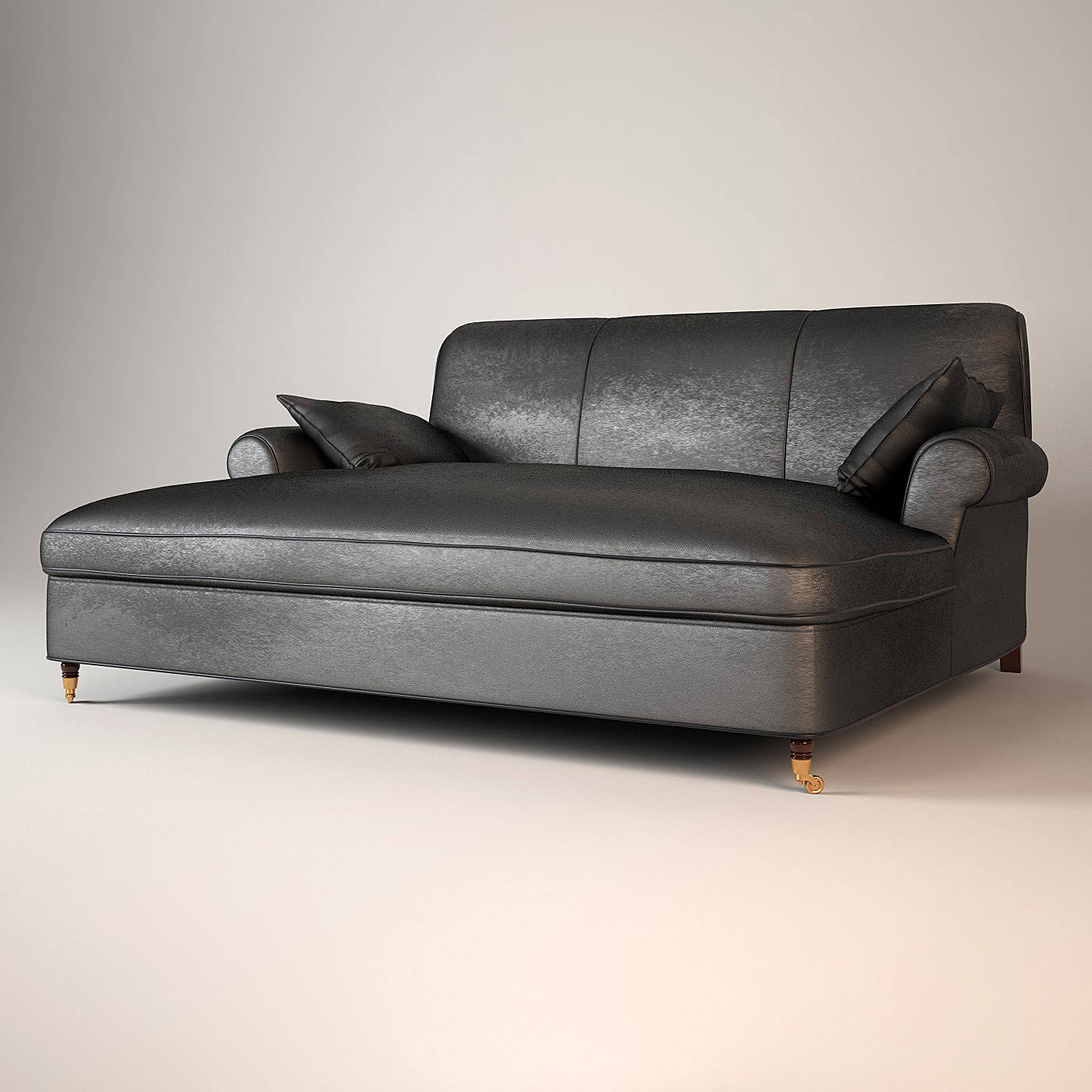 baxter sofa willow sleeper crate and barrel charlotte dormeuse 3d model max obj