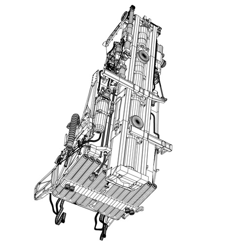 Martin baker Mk10 Ejection Seat 3D Model .max .fbx .lwo