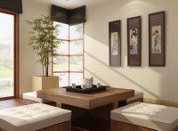 Oriental Style Living Room 3D model | CGTrader