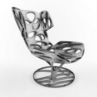 Futuristic Sci-Fi Chair Armchair for Modern Scenes Living ...