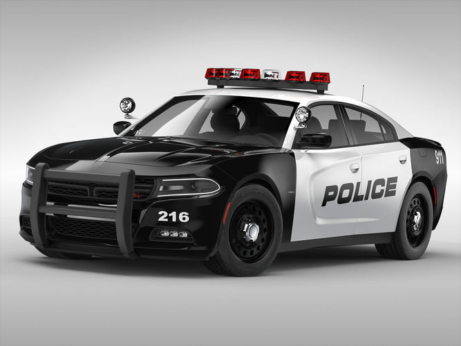 Crown Vic Police Car Wallpaper 3d Dodge Charger Police 2015 Cgtrader