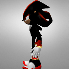 Plastic Table And Chair Set White Leather Arm Shadow The Hedgehog 3d Model Game Ready .obj - Cgtrader.com