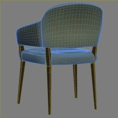 Upright Recliner Chairs High End Chair Knightsbridge Lucia Open 3d Model Max Obj