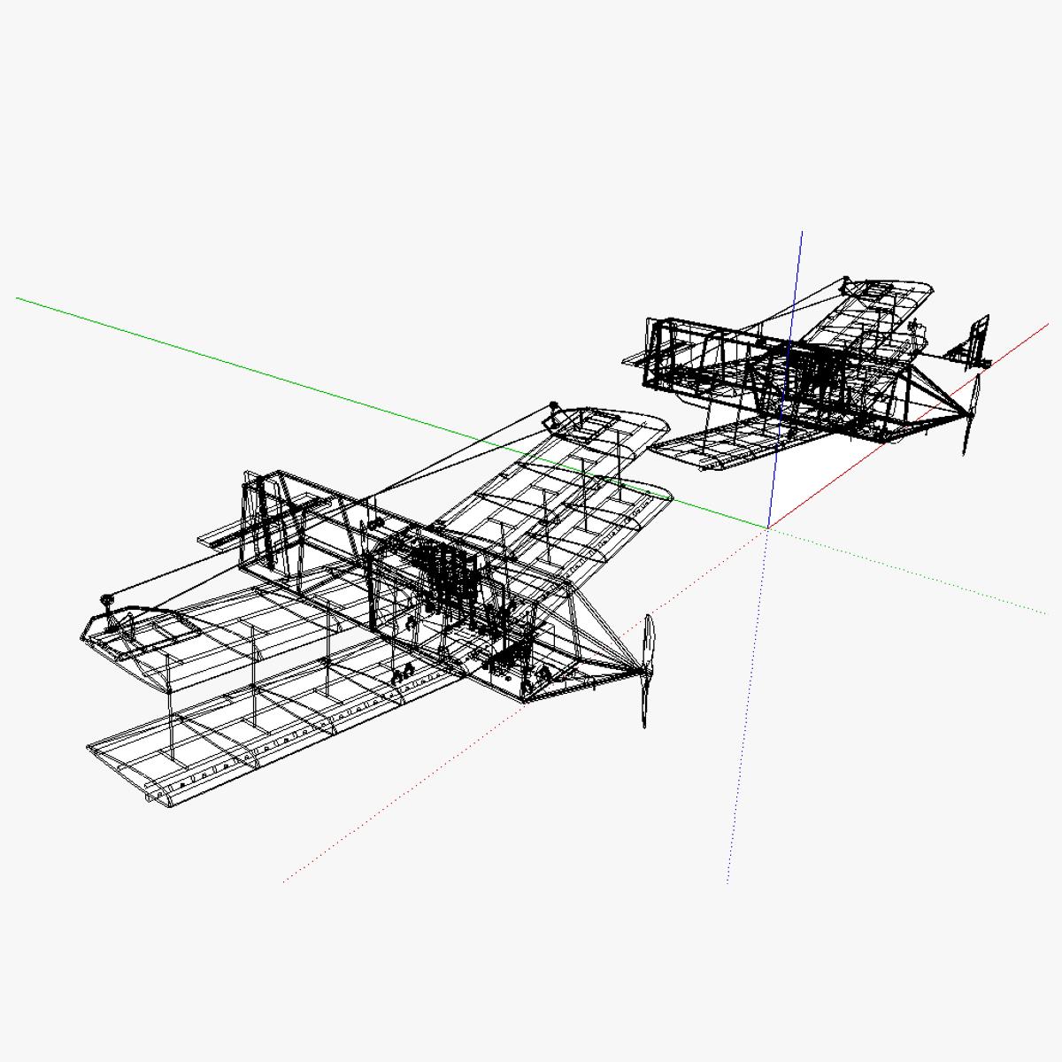 At Uas Unmanned Aerial System 3d Model Skp