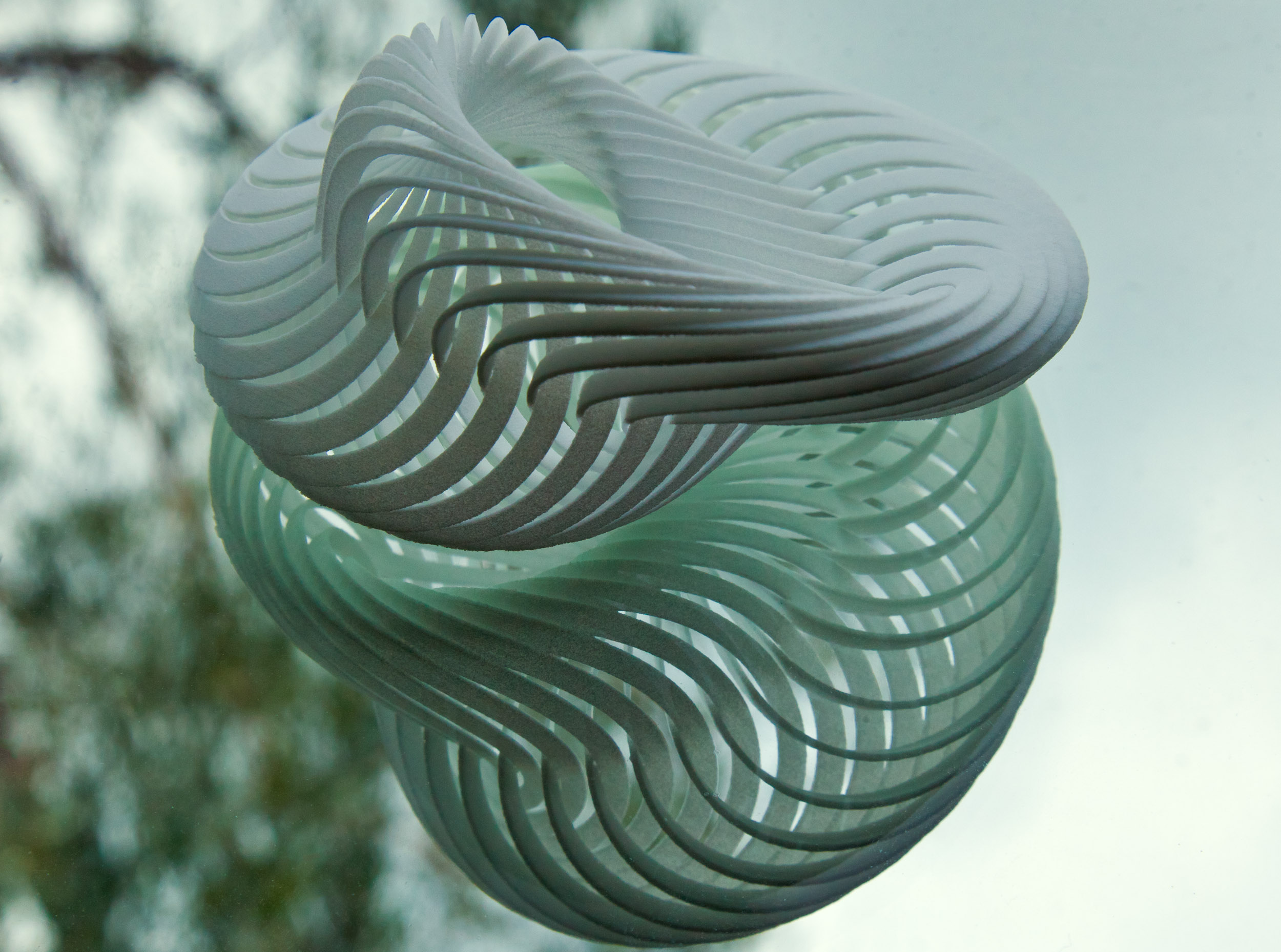 Mobius Nautilus 3D Model 3D printable obj  CGTradercom