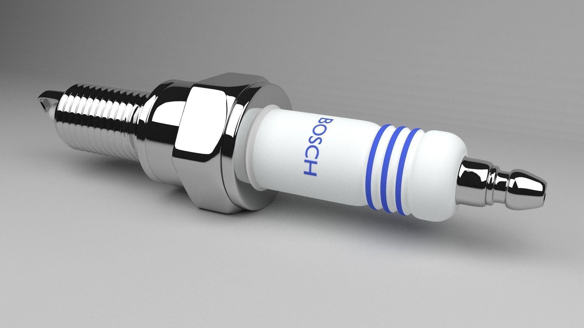 spark plugins ceiling fan speed control switch wiring diagram plug 3d model 3ds fbx blend mtl cgtrader