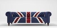 Union jack 3 seater sofa 3D Model .max .obj .3ds .fbx .mtl ...