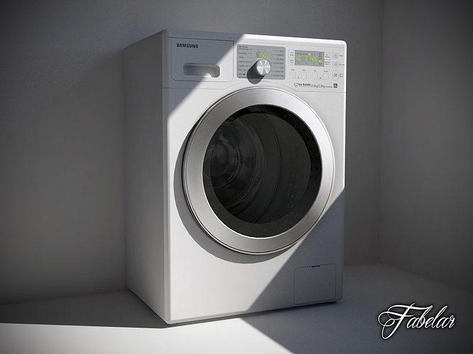 3D model Washing machine 02  CGTrader