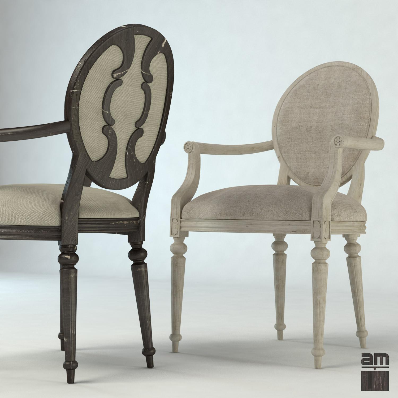 louis xv chair wedding covers australia 3d vintage cgtrader model