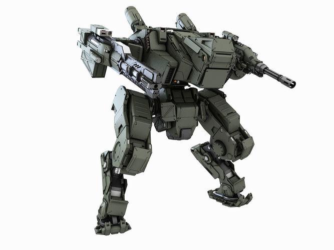 97+ Characters Sci Fi Characters Mech Robots Modular Kit
