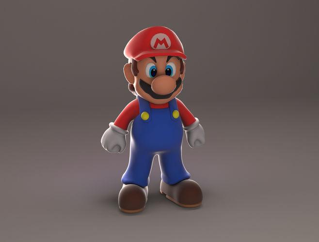 Mario 3D Model CGTrader