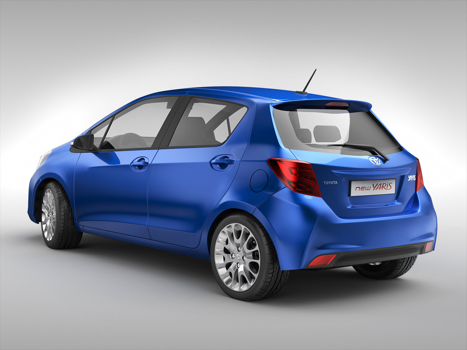 toyota yaris trd 2015 bekas grand new avanza veloz 2018 3d model max obj 3ds fbx c4d ma mb