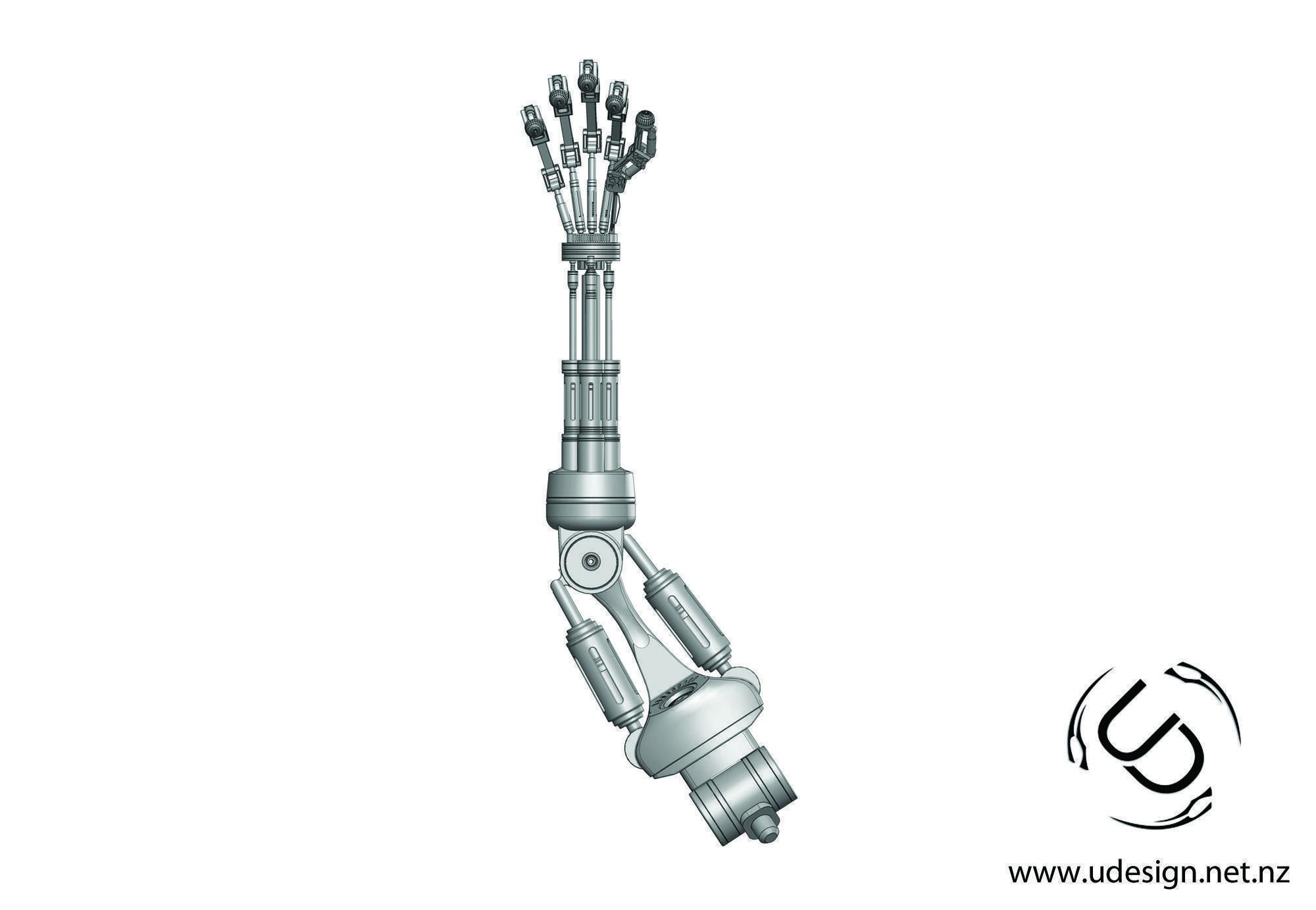 Terminator T 800 Arm